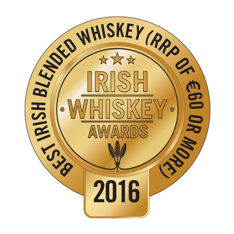 Irish Blended Whiskey €60 and more