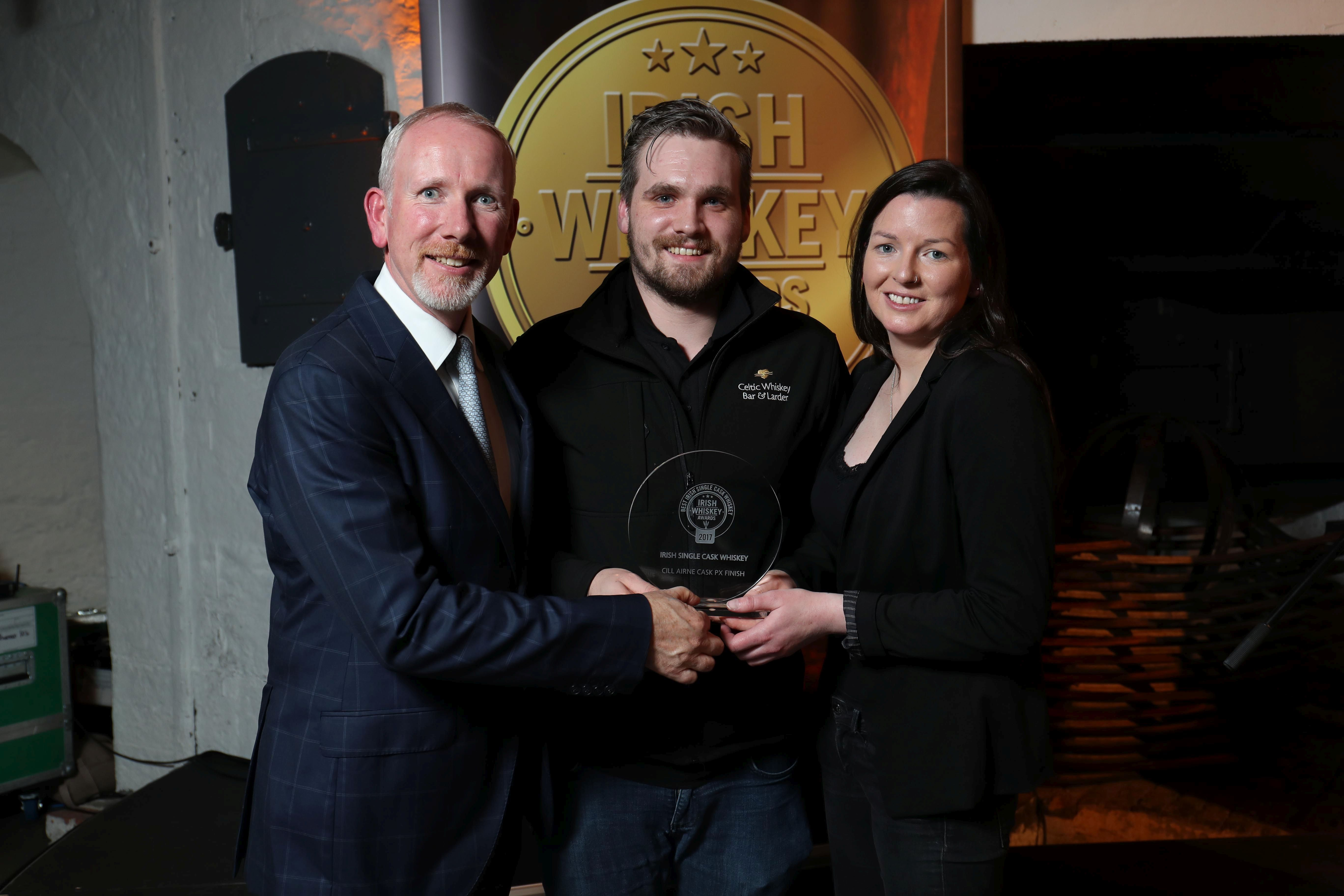 Winner of Best Irish Single Cask Whiskey