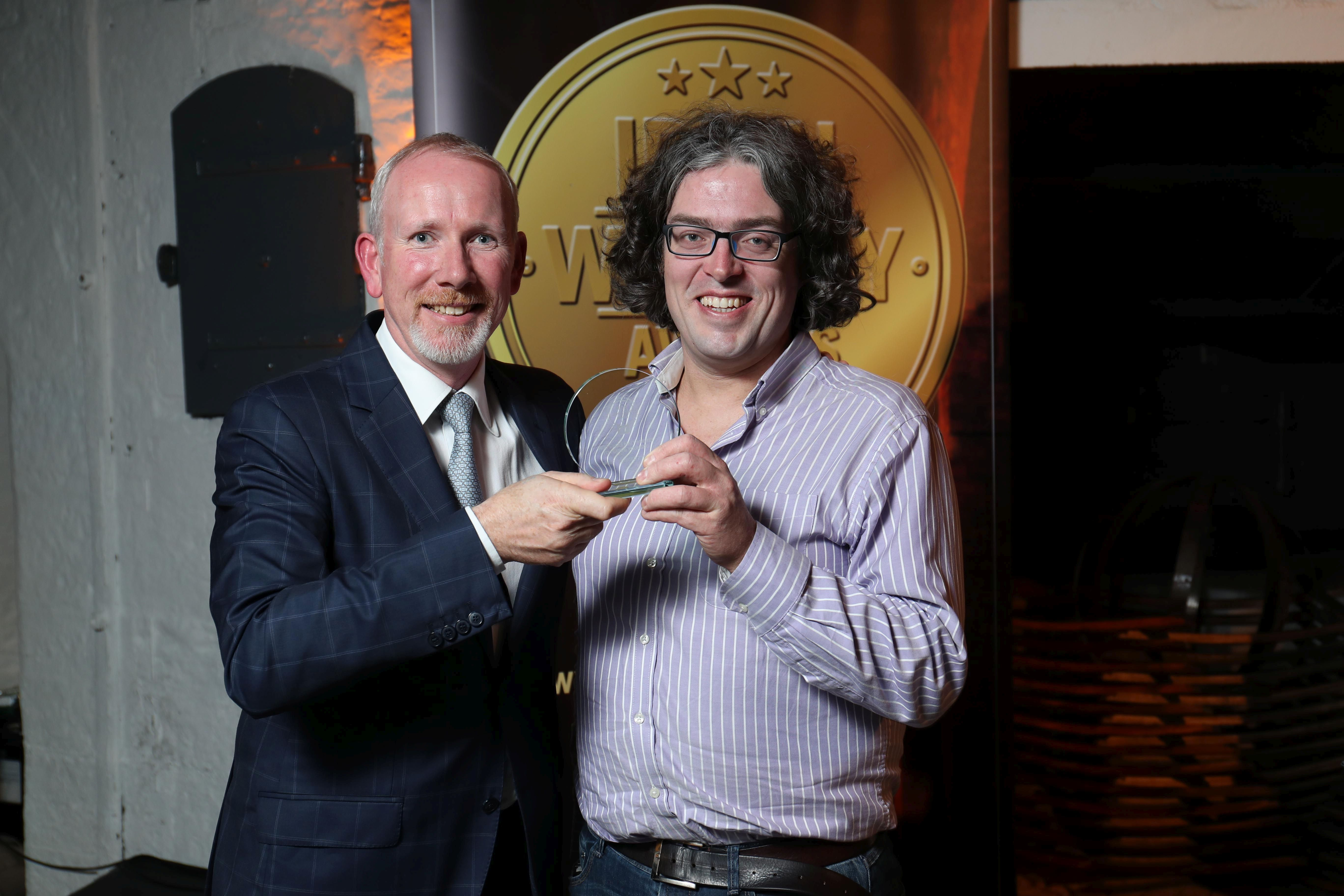 Gold Medal Winner of Best Irish Single Malt Whiskey (12 Years and Under)