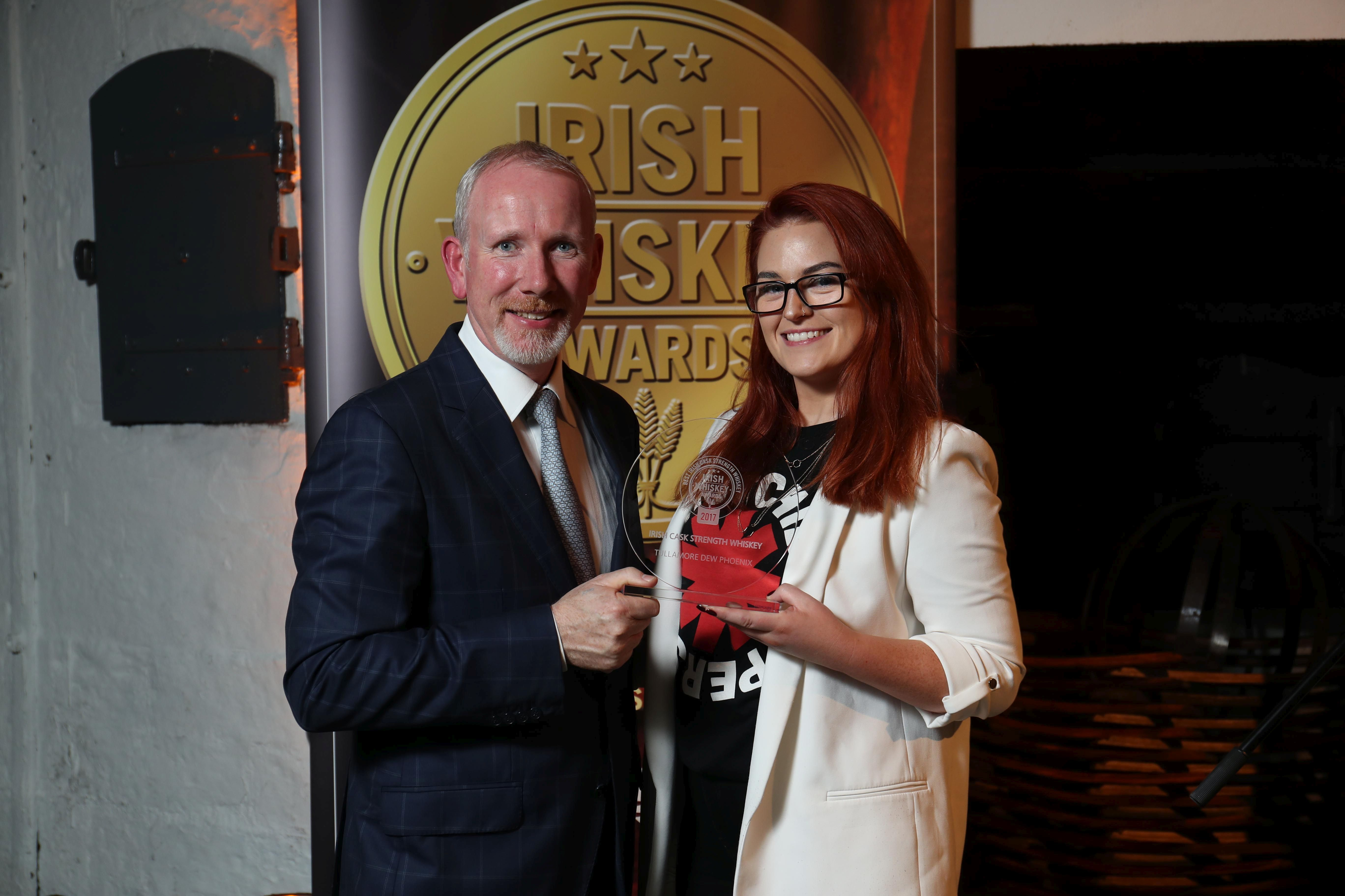 Winner of Best Irish Cask Strength Whiskey