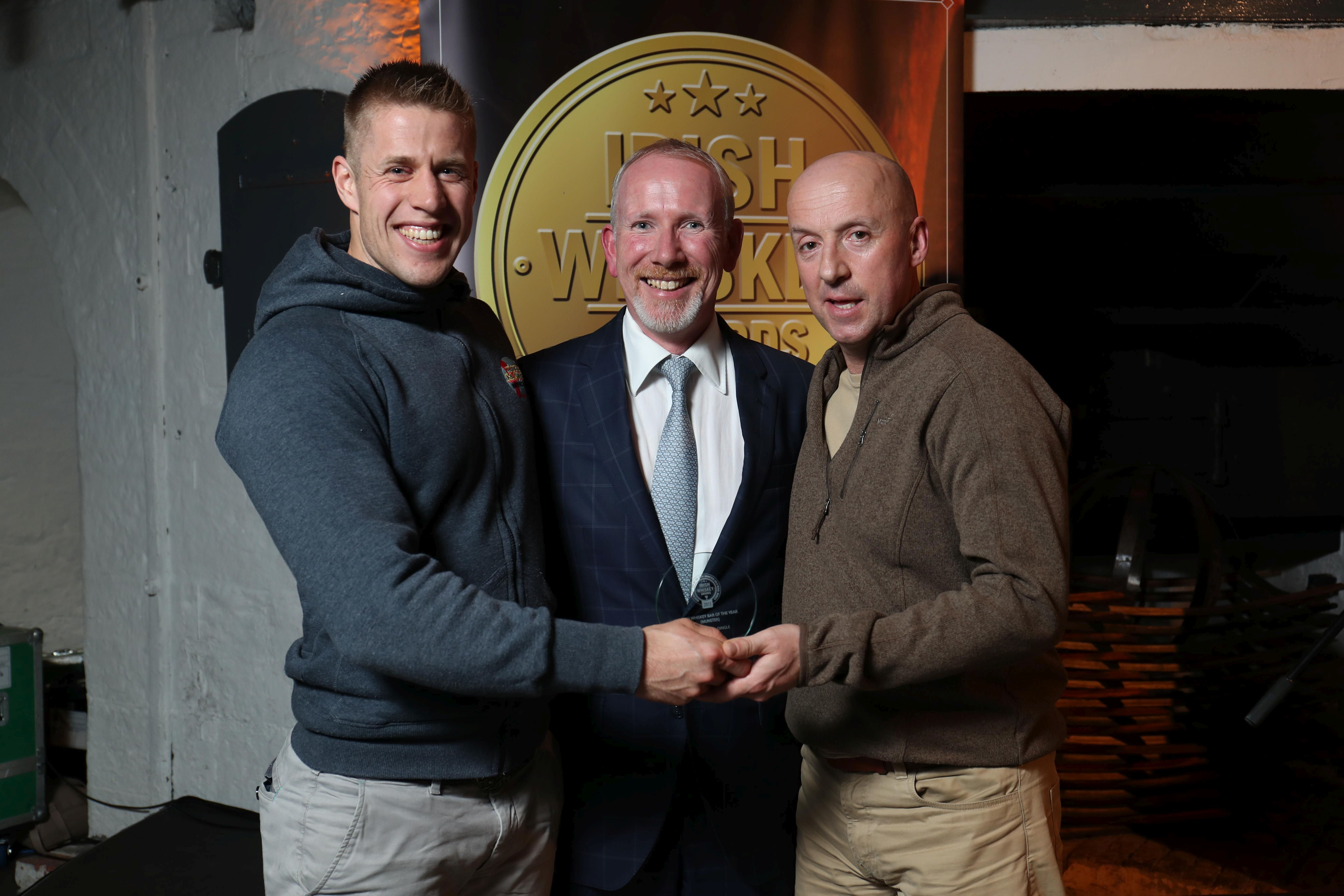 Gold Medal Winner of Best Irish Whiskey Bar (Munster)