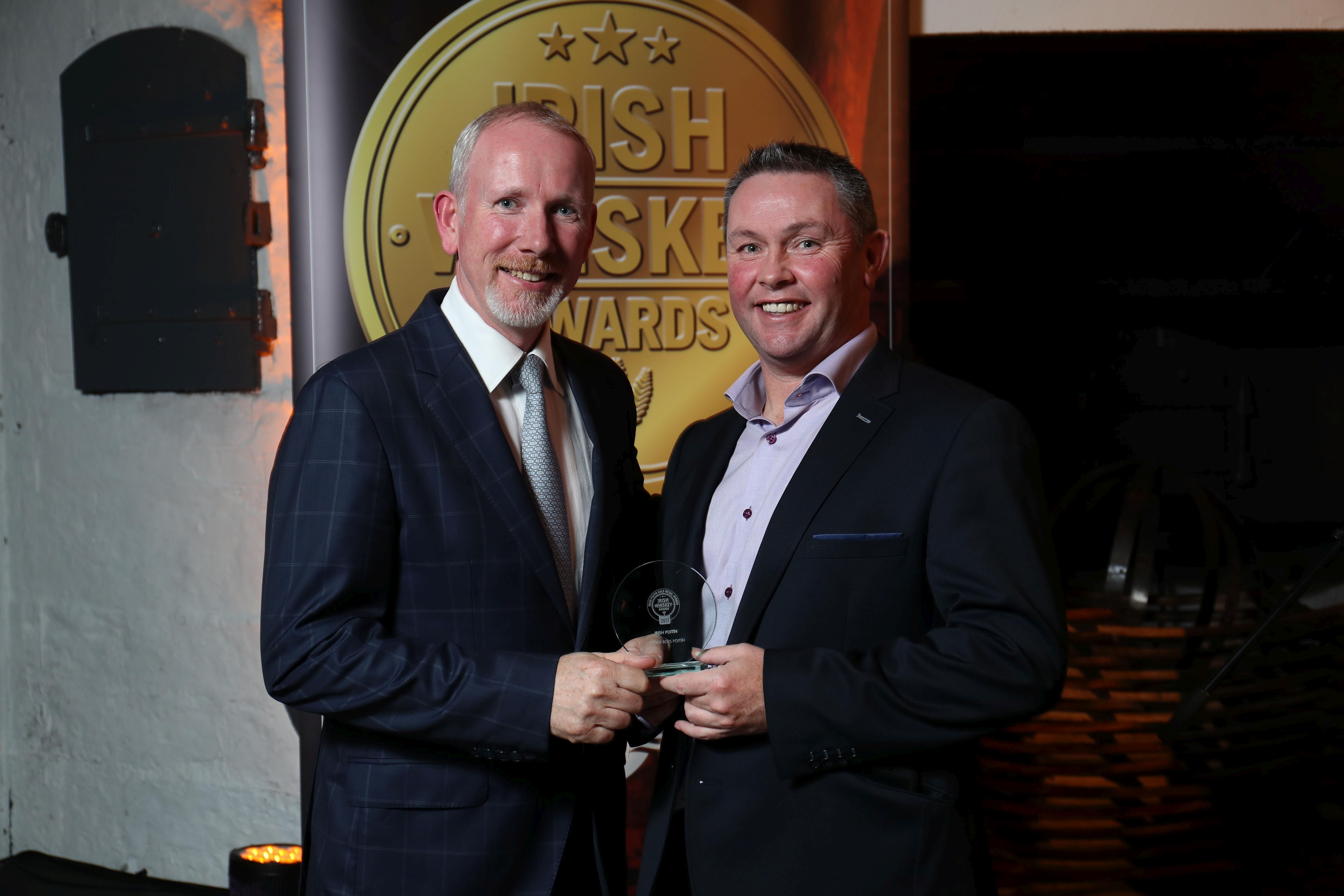 Gold Medal Winner of Best Irish Poitin