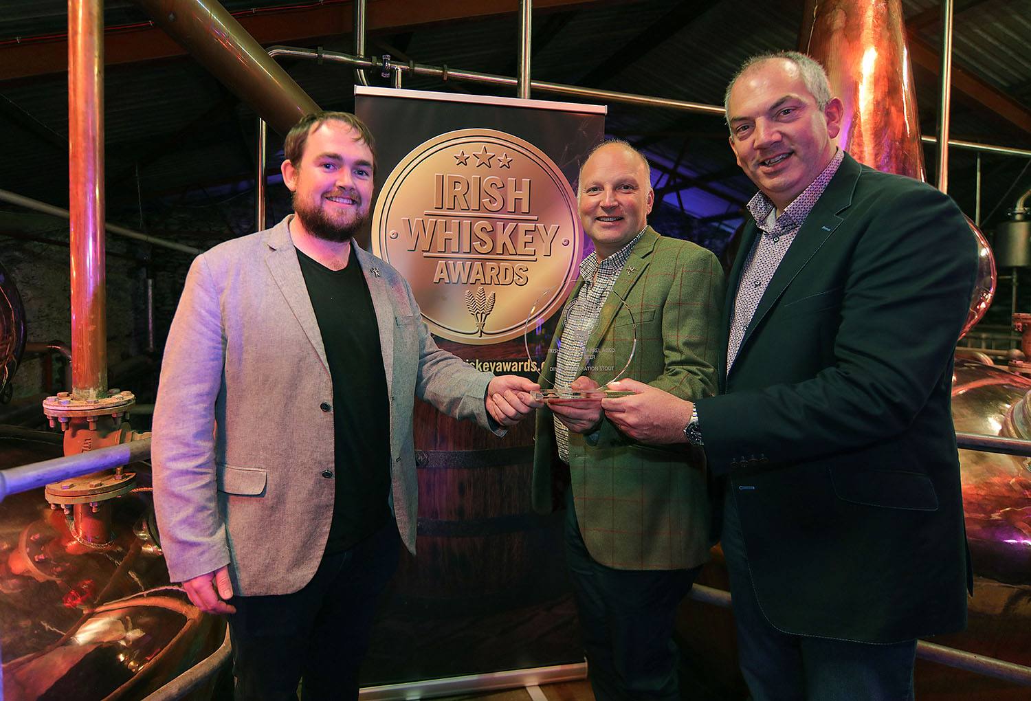 Winner of Best Irish Whiskey Barrel Aged Beer 2019