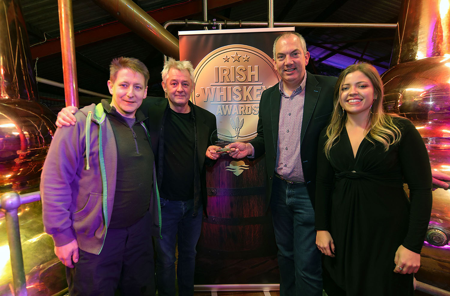 Gold Medal Winner of Best Irish Whiskey Bar (Leinster) 2019