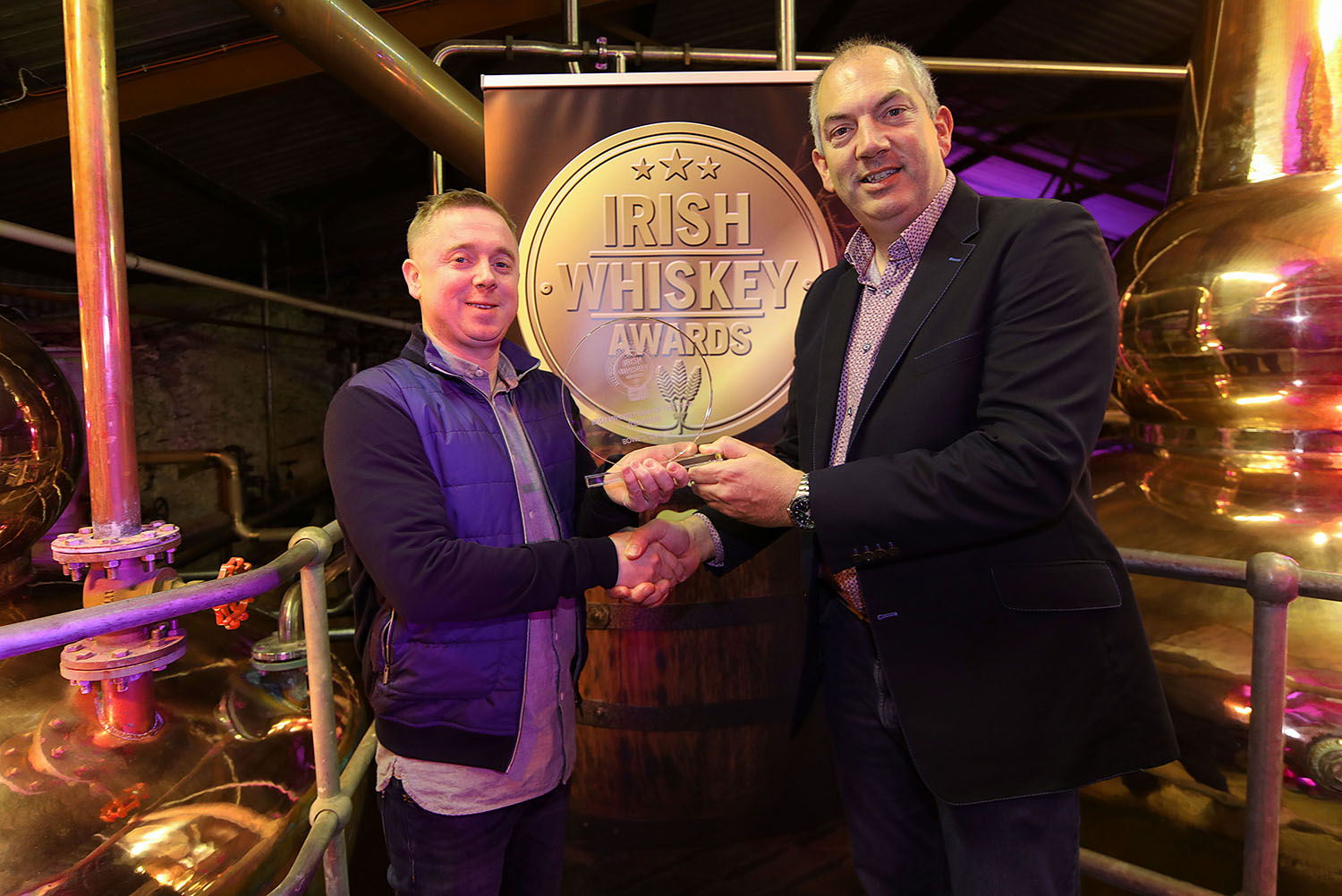 Winner of Best Irish Whiskey Bar (Leinster) 2019